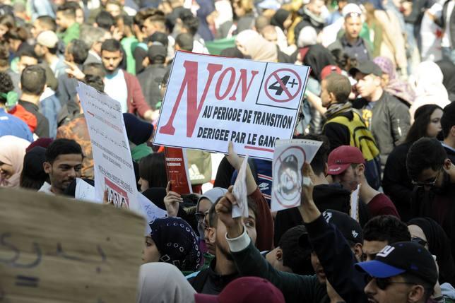 Continúan las protestas y manifestaciones contra Buteflika en Argelia