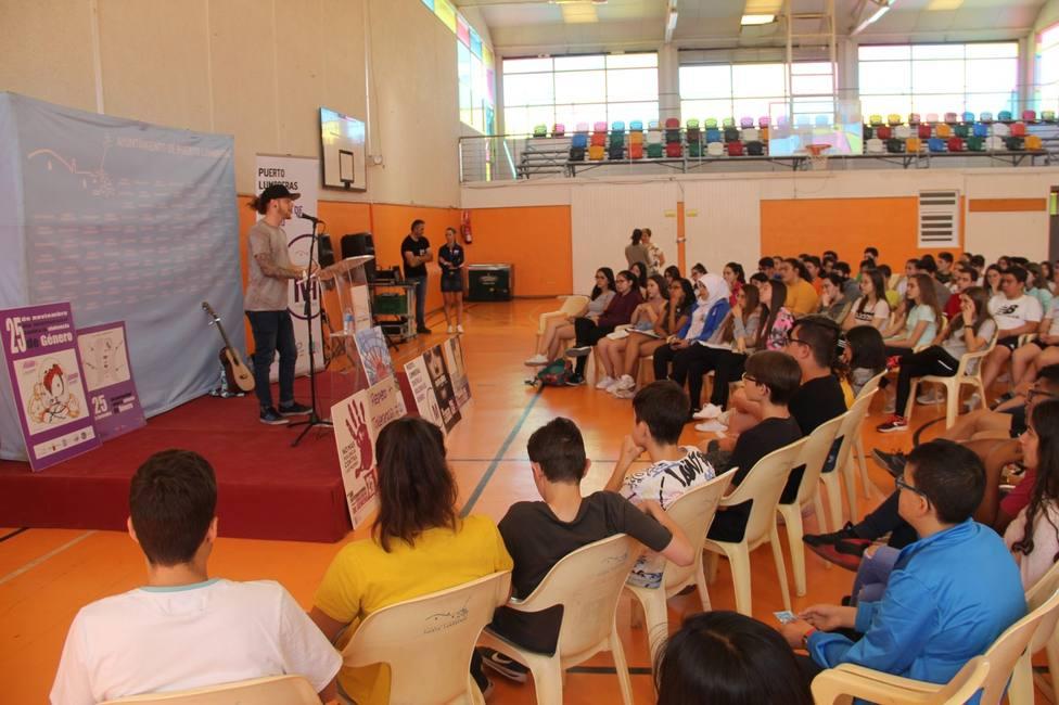 Puerto Lumbreras desarrolla unacampaña de prevención de violencia degénero a ritmo de rap