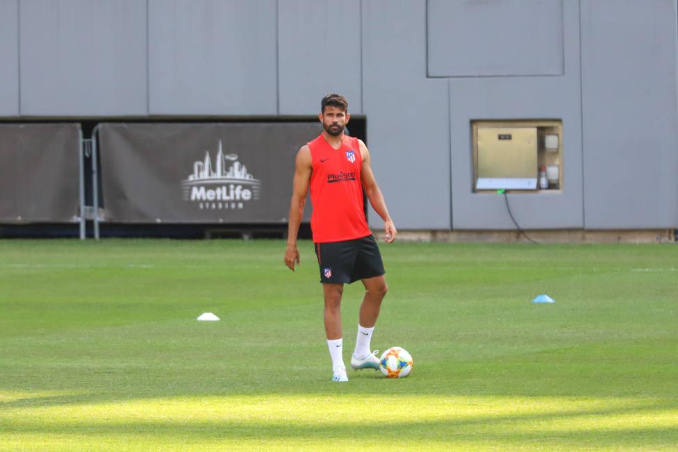 Diego Costa sufre una lesión muscular en los aductores del muslo izquierdo
