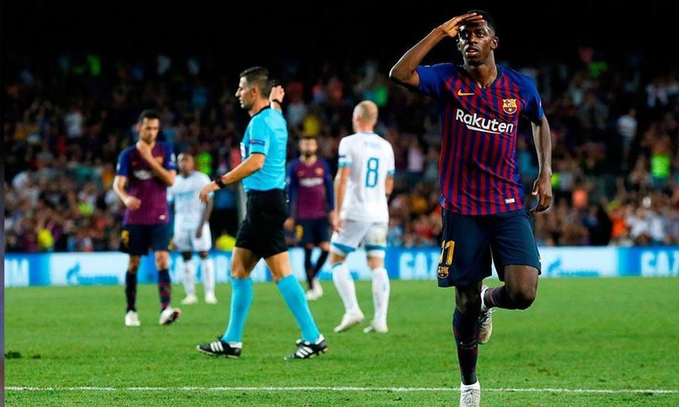 Dembelé podría reaparecer en Granada
