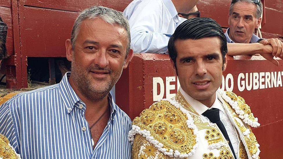 Luisito y Emilio de Justo en una imagen de archivo