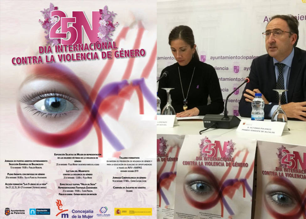 Palencia prepara el Día Internacional contra la Violencia de Género