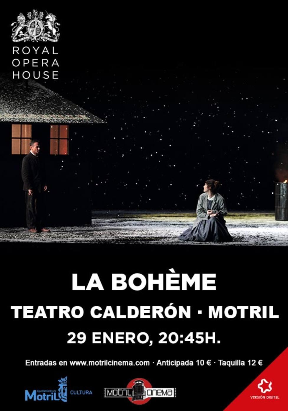 Ópera La Boheme