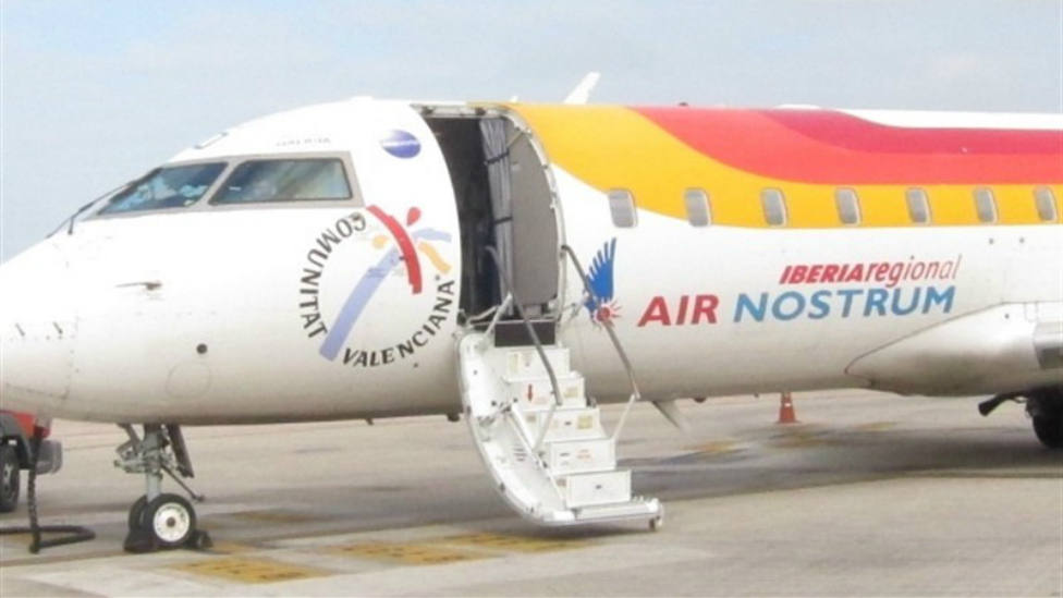 Air Nostrum mantendrá cuatro vuelos semanales entre Logroño y Madrid hasta final de año