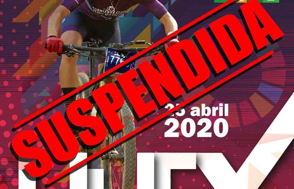 La Diputación suspende la prueba de BTT Huelva Extrema