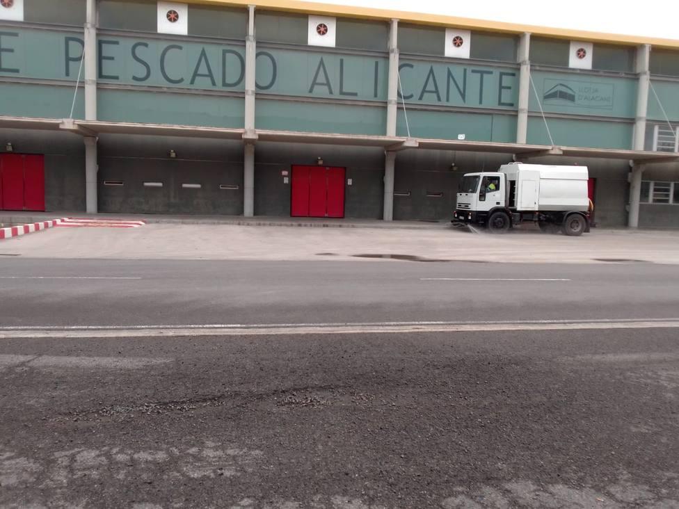 Desinfección del Puerto de Alicante (APA)