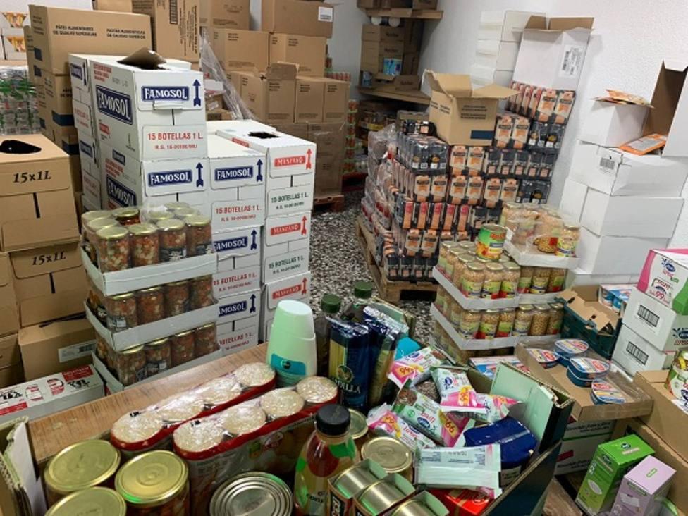 La Concejalía de Derechos Sociales y Familia garantiza el acceso a alimentos a 2.016 personas vulnerables