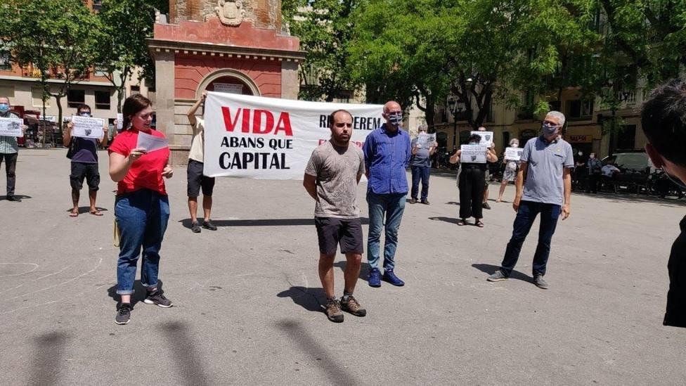 Imagen de la manifestación de ANC