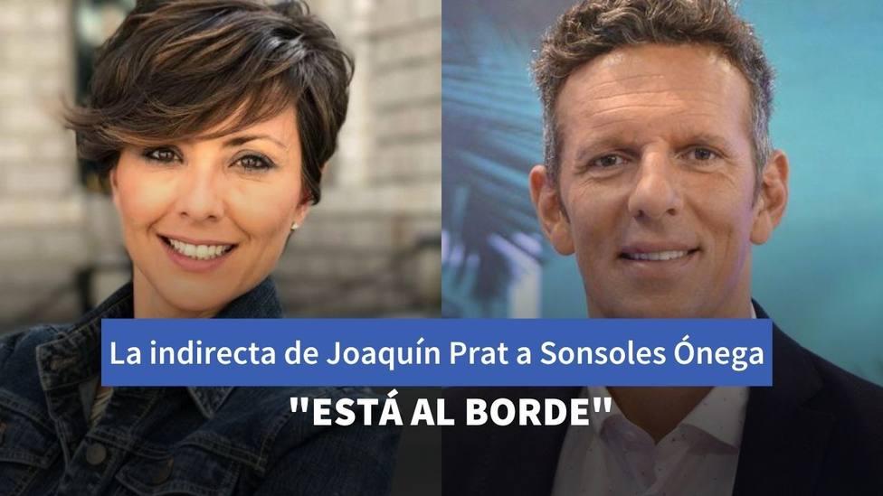 El inesperado gesto de Joaquín Prat con Sonsoles Ónega en pleno directo sobre estas imágenes