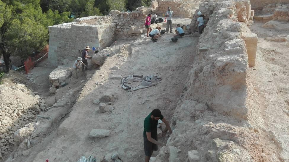 Excavaciones en Calpe (Diputación de Alicante)