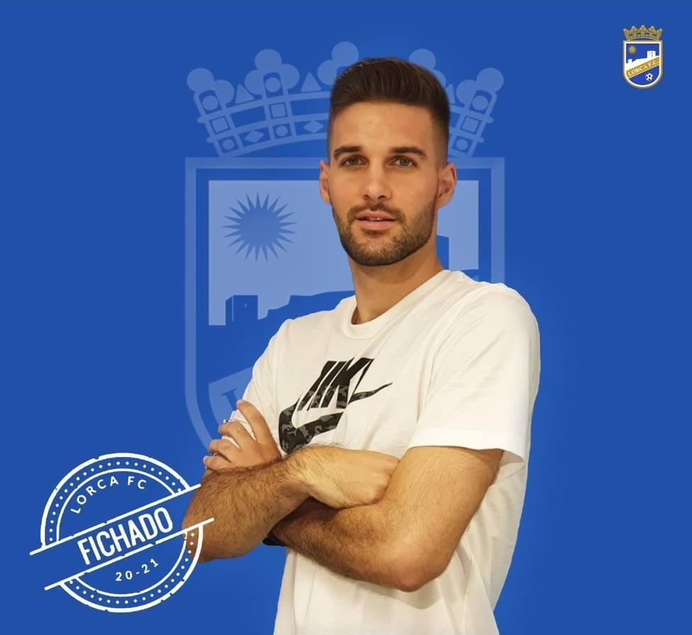 Adrián Campoy, sexto lorquino para el Lorca FC