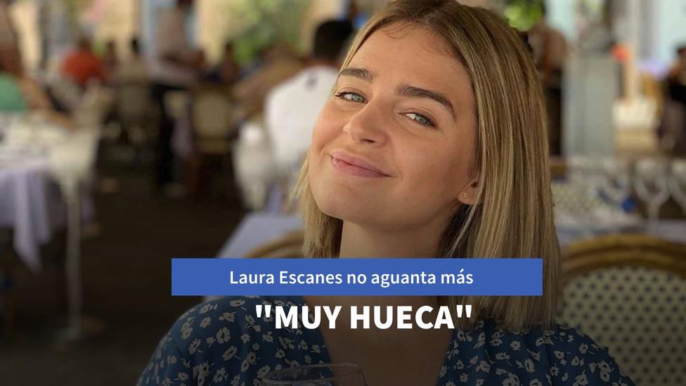 Laura Escanes no aguanta más y saca los colores a una seguidora: Esa cabeza... muy hueca