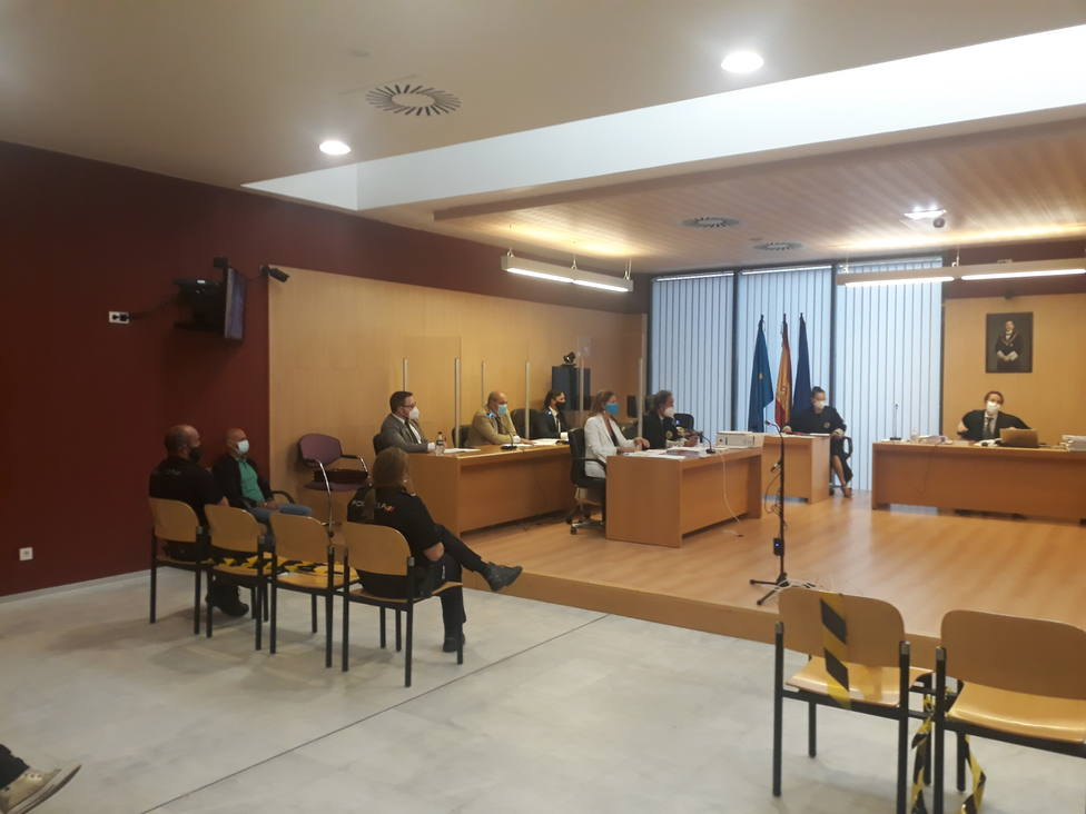 Foto 1 Juicio contra Javier Ledo (Por muerte de Paz Fernández Borrego)
