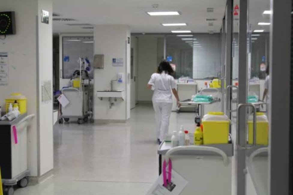 Zona de UCI del Hospital General de Villalba