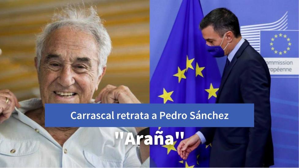 El duro calificativo con el que José María Carrascal define a Sánchez tras la ausencia del Rey en Barcelona