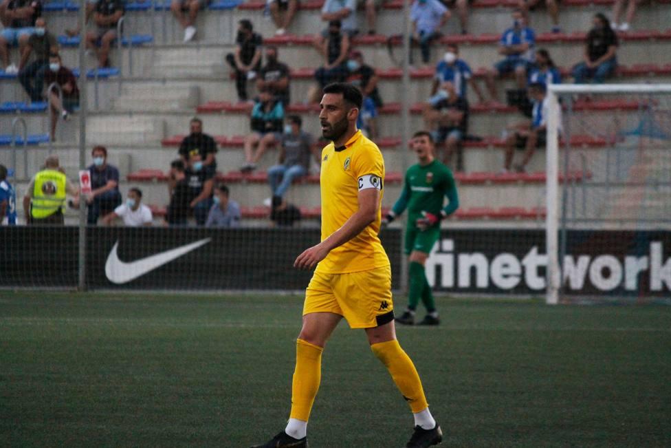 Benja Martínez durante un partido de pretemporada (HCF)
