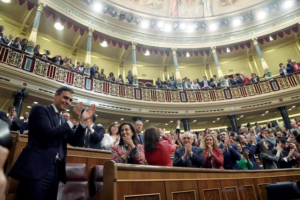 El Supremo tumba el argumento que justificó la moción de censura con la que Sánchez llegó a la Moncloa