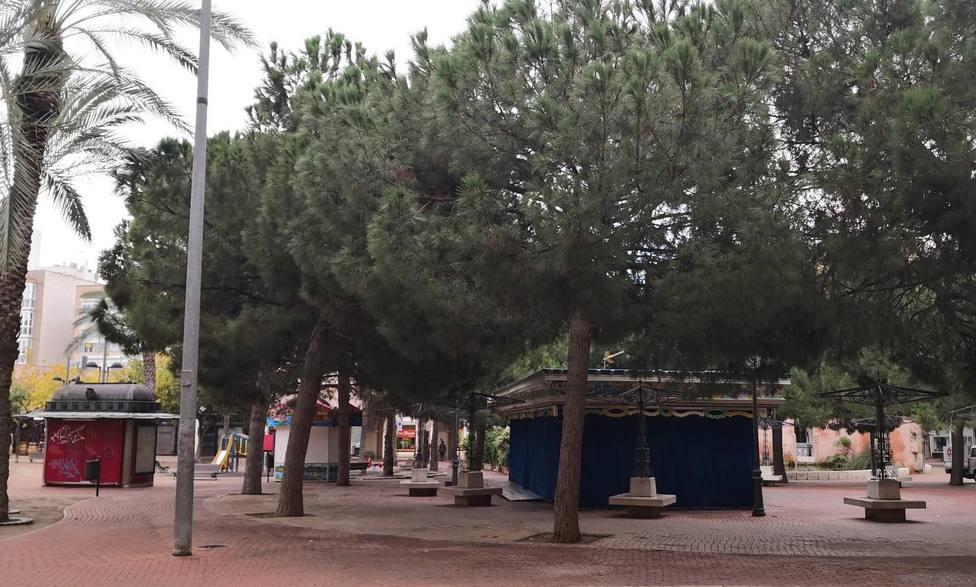 La Policía local multará a las personas que permanezcan en parques y jardines después de las siete de la tarde