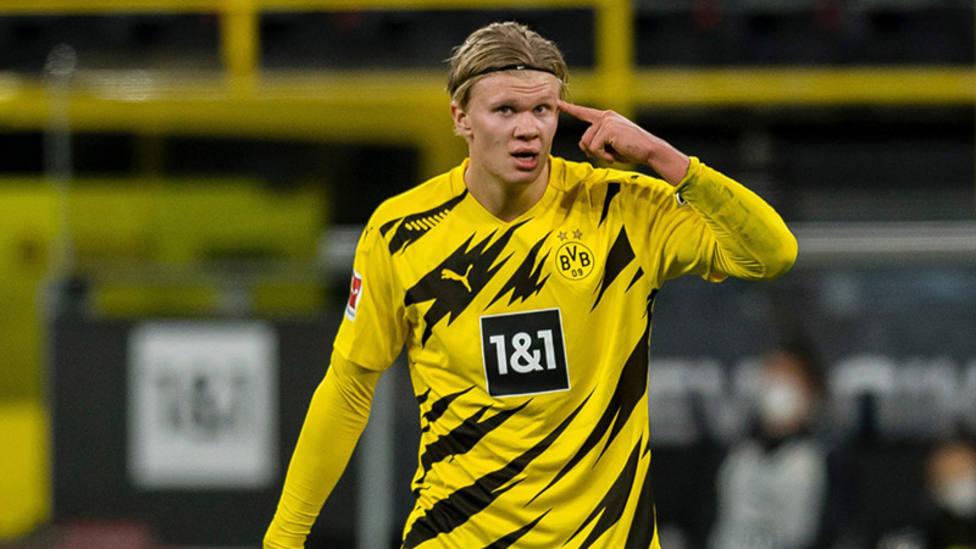El Borussia pierde a Haaland hasta el año 2021