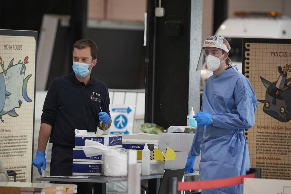 Salud llama a hacerse pruebas PCR a los clientes del bar Subsuelo de Pamplona