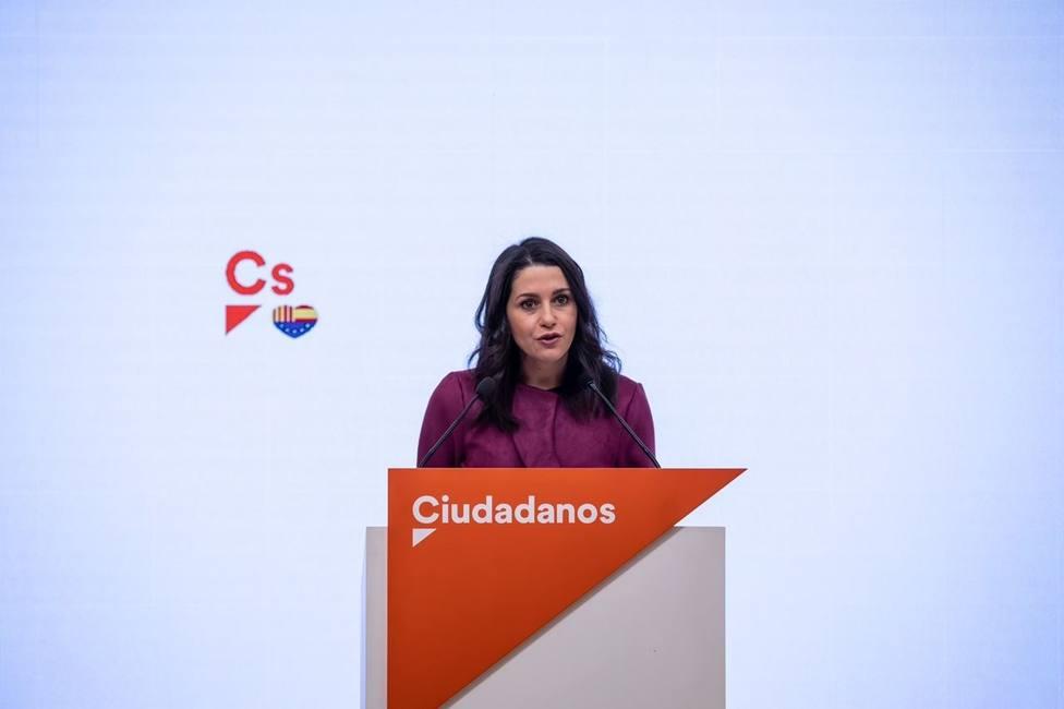 Arrimadas ve un triunfo de la democracia extraditar a España a Josu Ternera