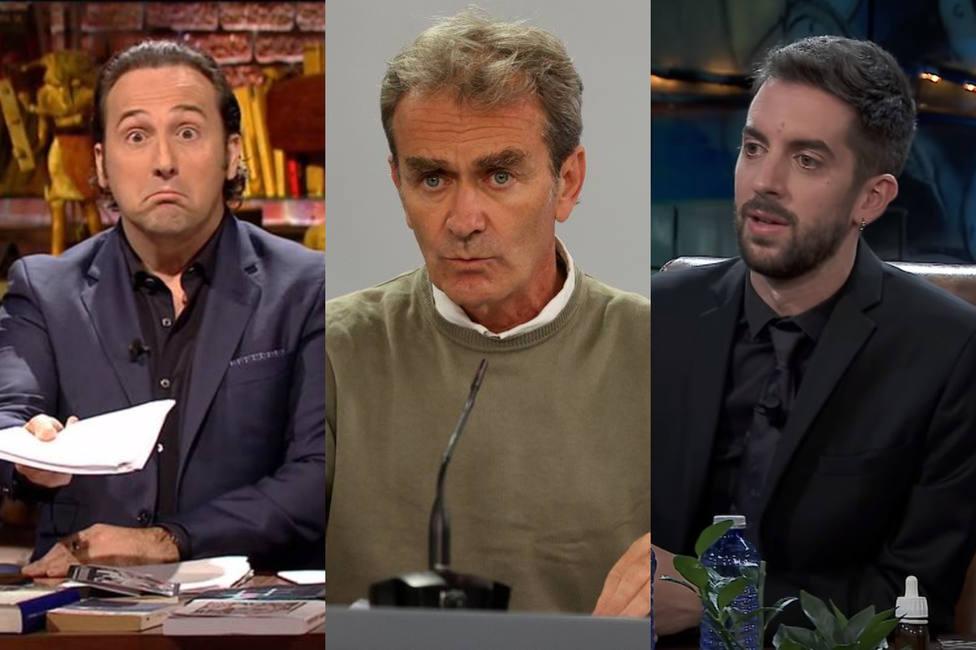 El reproche de La Resistencia a Iker Jiménez por sus palabras contra Fernando Simón