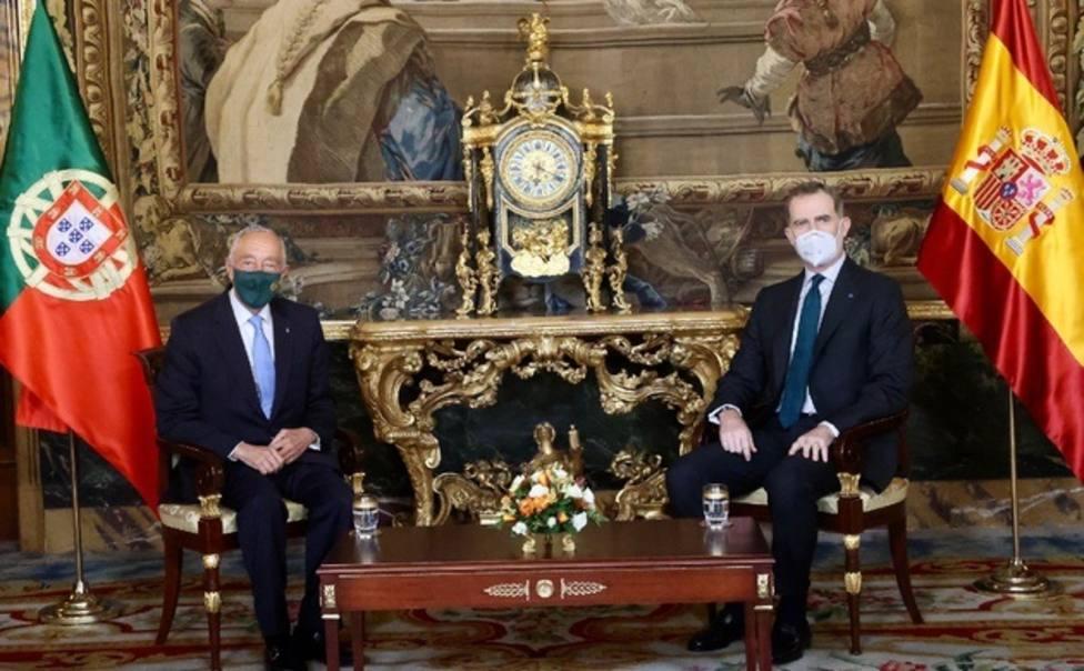 La cumbre Iberoamericana y la covid-19: dos cuestiones que ha abordado el Rey con el presidente de Portugal
