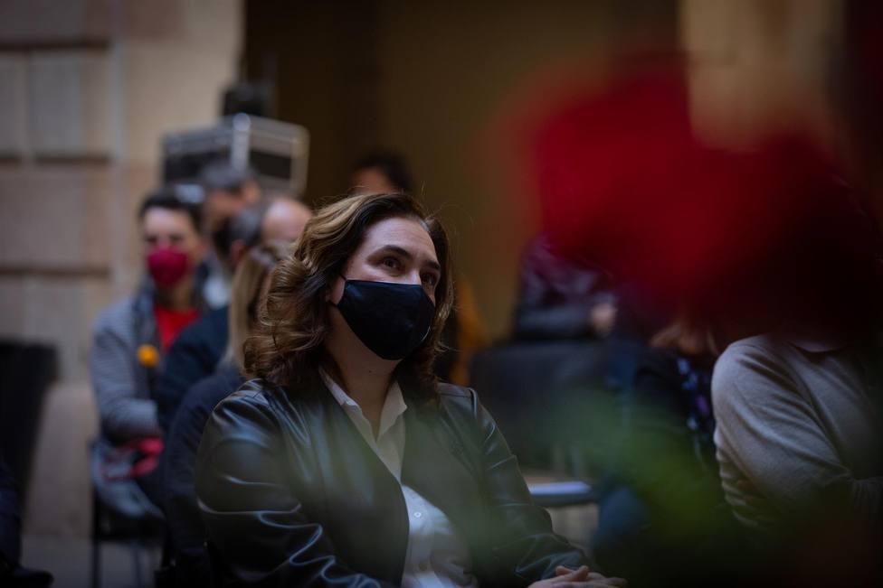La alcaldesa de Barcelona, Ada Colau - David Zorrakino - Europa Press