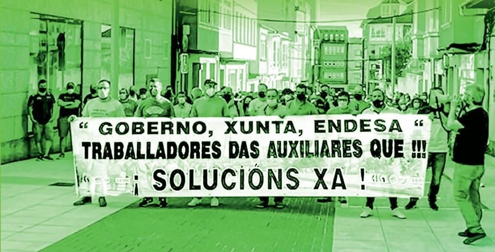 La movilización partirá este miércoles por la tarde de la casa del concello de As Pontes