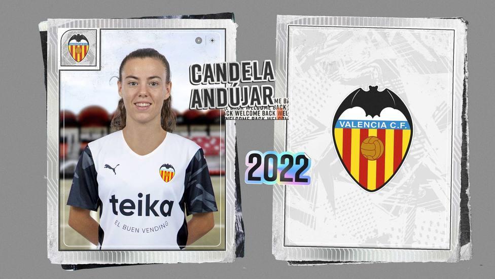 La barcelonista Candela Ándujar seguirá cedida en el Valencia un año más