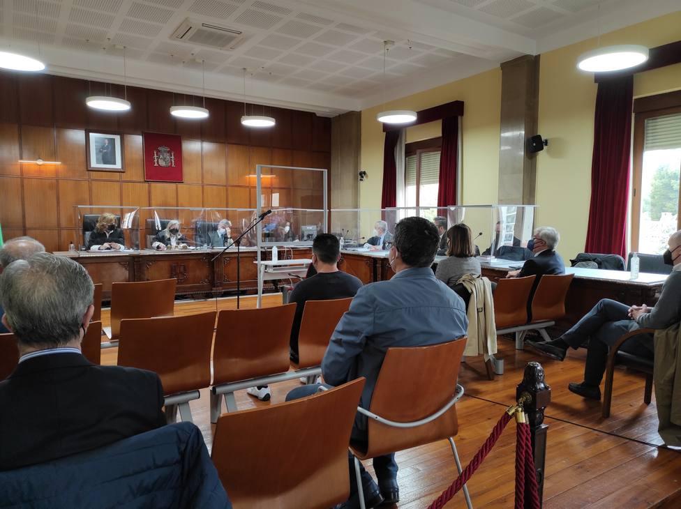 Imagen de archivo de una de las jornadas del juicio por Matinsreg - EUROPA PRESS