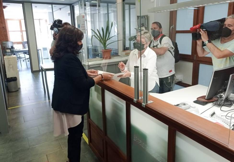 Concha Andreu es la única precandidata a la Secretaría General del PSOE de La Rioja