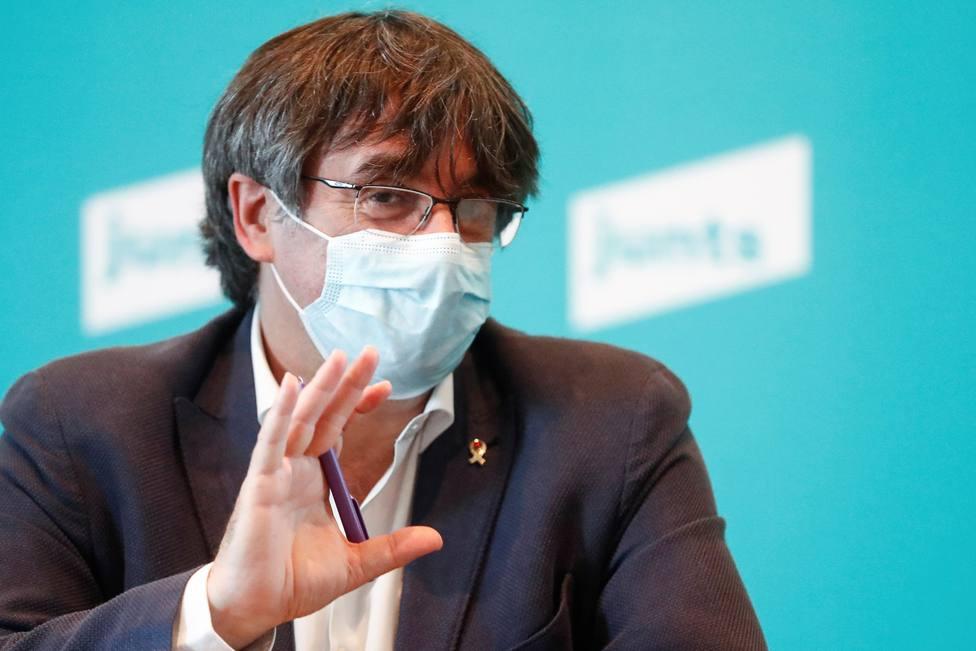 Aragonès, Borràs o Rull: el independentismo celebra la libertad de Puigdemont y aboga por la amnistía