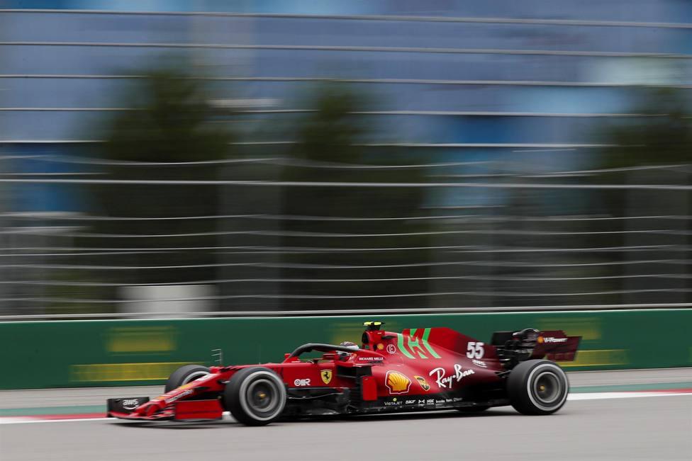 Carlos Sainz, piloto de Ferrari (EFE)