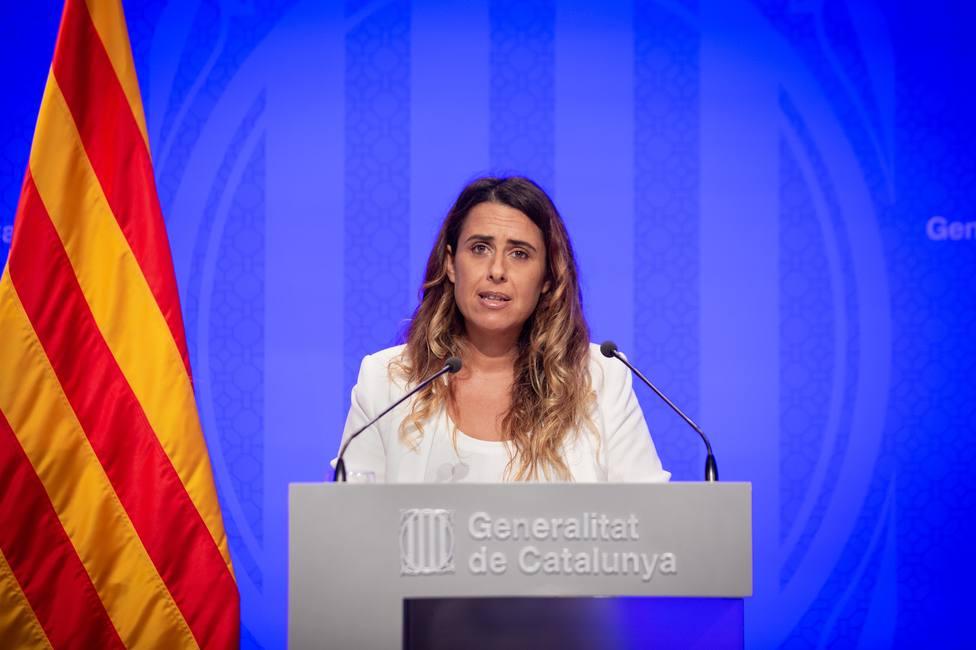 La portavoz del Govern defiende la solidez jurídica de los avales a independentistas