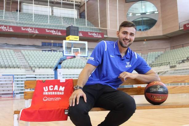 Cate: Estoy más preparado que nunca para hacer un gran año en UCAM Murcia CB