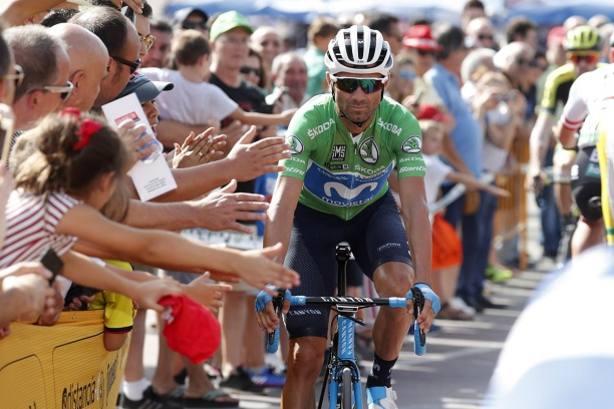 Alejandro Valverde se queda a un segundo del liderato en La Covatilla