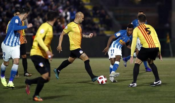 Crónica del Sant Andreu - Atlético de Madrid, 0-1
