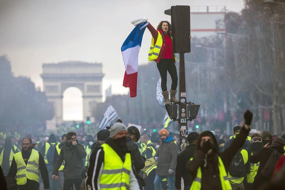 El Gobierno francés culpa a la ultraderecha de los disturbios de París