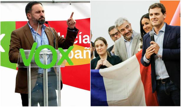 """El aplaudido 'dardo' de Abascal a Ciudadanos y Francia: """"¡Esto parece una broma!"""""""