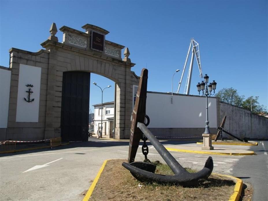 La paralización de la actividad es total a estas horas en los astilleros de Navantia Ferrol