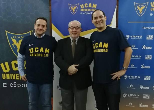 UCAM y Twitch se alían para fortalecer la presencia de los 'eSports' en la Universidad