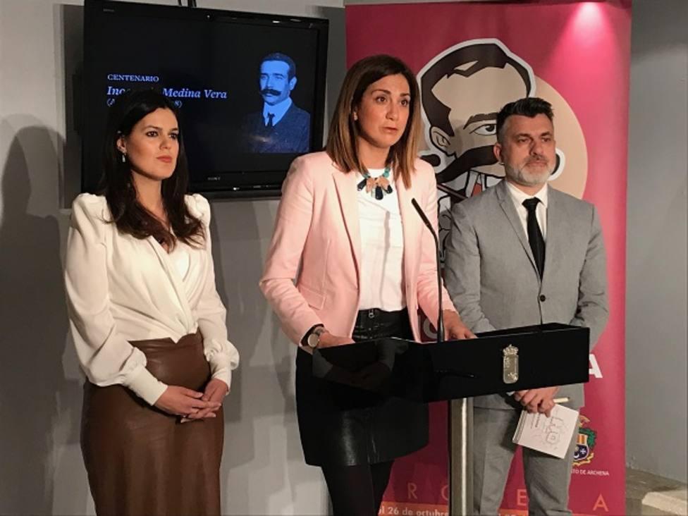 Archena conmemora el centenario de la muerte del pintor Inocencio Medina