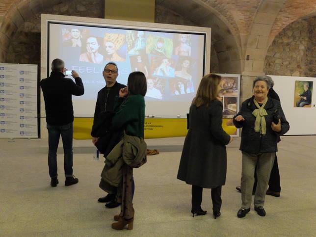 La exposicón está situada en la sala Carlos III de Exponav - FOTO: Pingota Comuniación