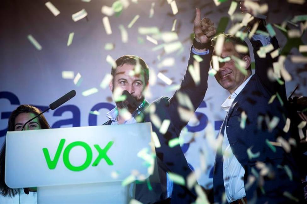 Solo tres de cada cuatro votos de Vox se tradujeron en escaños en las generales
