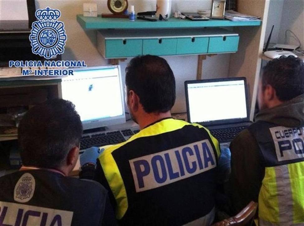 La Policía Nacional lucha contra la pornografía infantil. Foto: Archivo