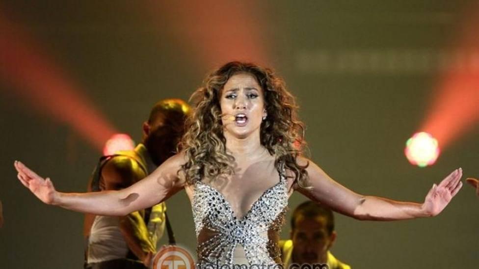 """Jennifer López, la """"diva del Bronx"""" hace vibrar Fuengirola con un polémico concierto"""