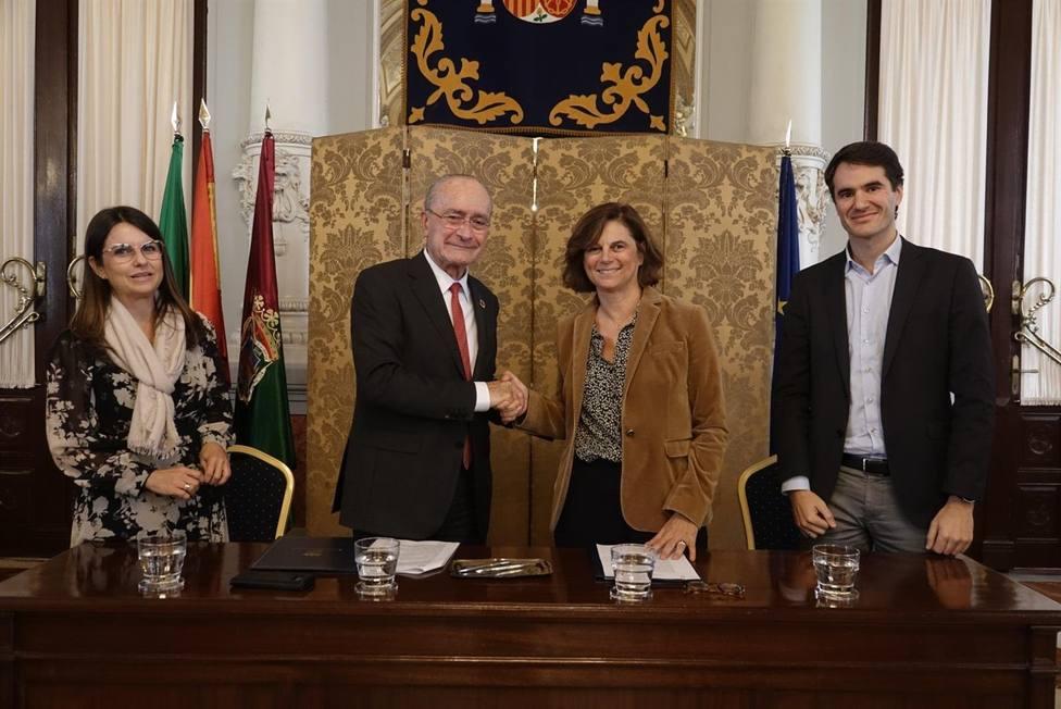 Con 42 Málaga,Fundación Telefónicay el Ayuntamiento dan un paso más en el escenario laboral.