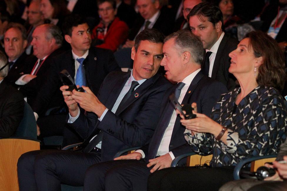 Sánchez trasladó a Urkullu que completar el Estatuto de Gernika es un objetivo prioritario para este año 2020