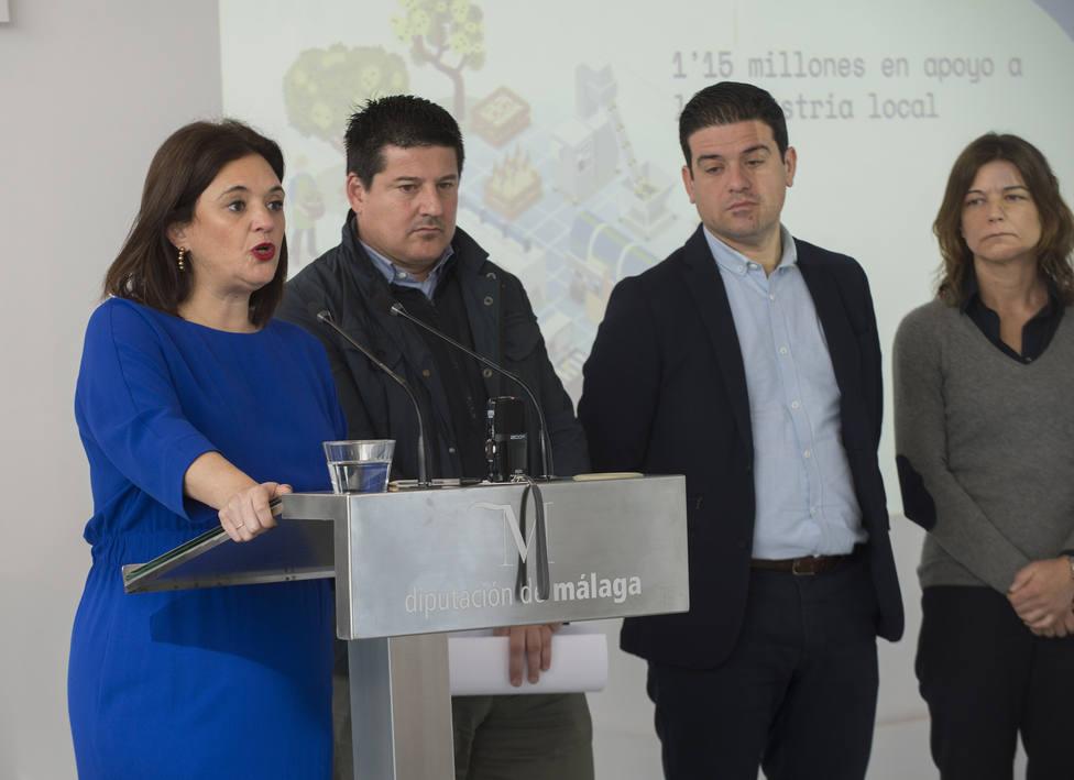 Margarita del Cid hoy en Diputación.